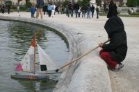 Tristan et son bateau