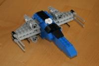 X-Wing en position normale